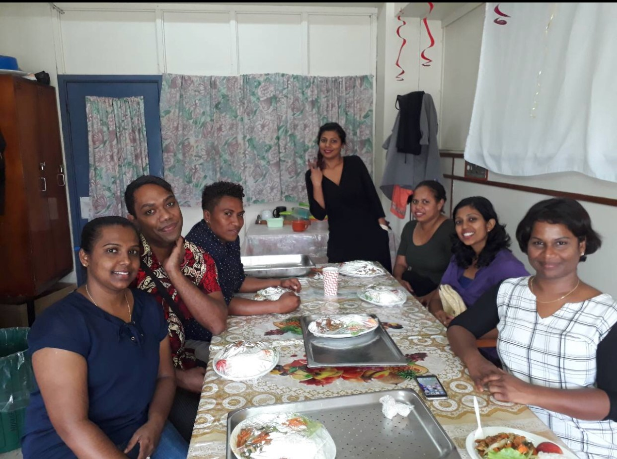 Beecroft Rotary's Kidney Dialysis Project in FIJI - Nurses in training